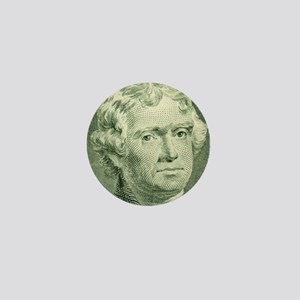 Thomas Jefferson Mini Button