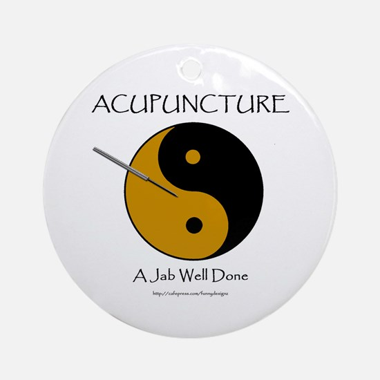 Acupuncture Ornament (Round)