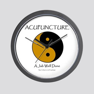 Acupuncture Wall Clock