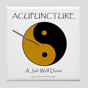 Acupuncture Tile Coaster