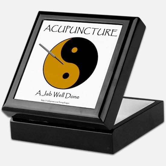 Acupuncture Keepsake Box
