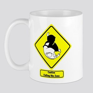 """Falling Uke Zone"" Mug"