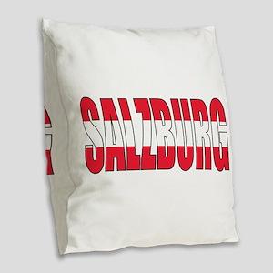 Salzburg Burlap Throw Pillow
