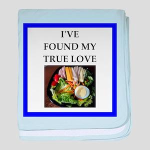 salad baby blanket