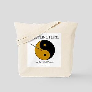 Acupuncture Tote Bag