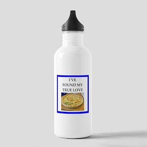quiche Water Bottle