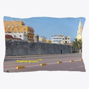 The Walled City of Cartagena Pillow Case