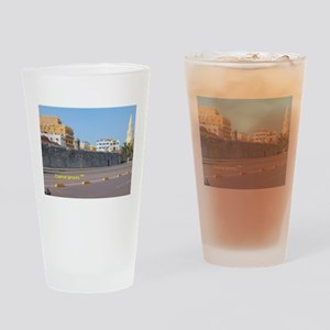 The Walled City of Cartagena Drinking Glass