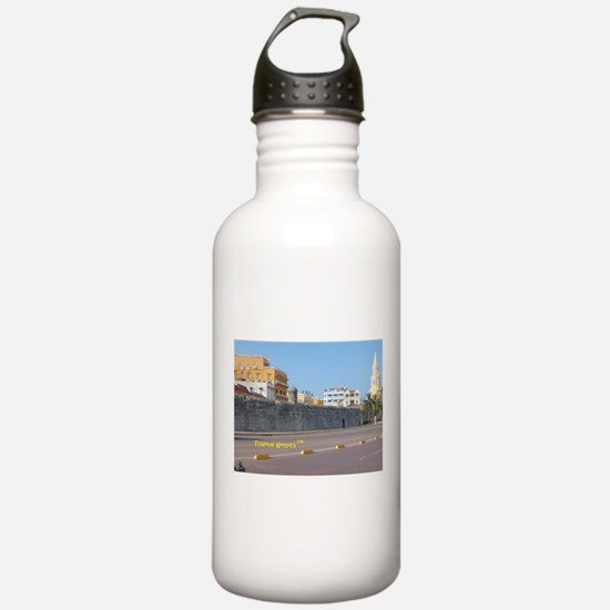 The Walled City of Cartagena Water Bottle