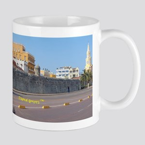 The Walled City of Cartagena Mugs
