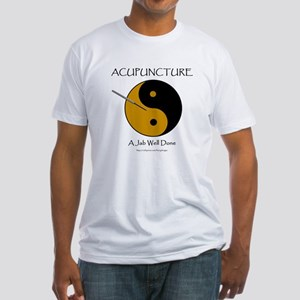 Acupuncture Fitted T-Shirt
