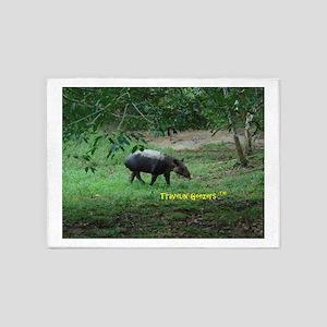 Tapir 5'x7'Area Rug
