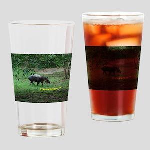 Tapir Drinking Glass