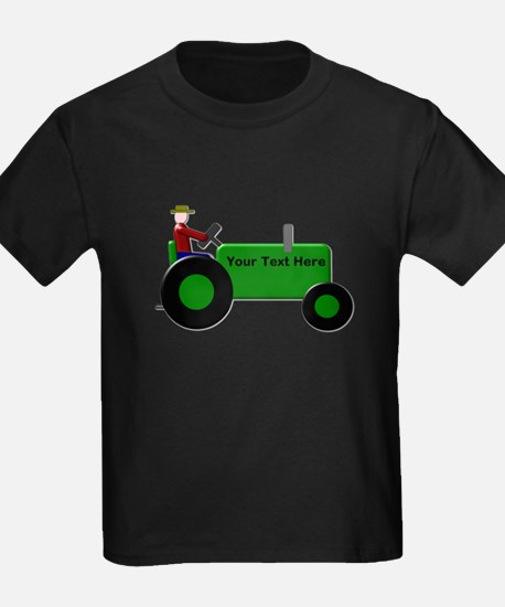 Personalized Green Tractor T