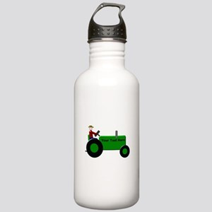 Personalized Green Tra Stainless Water Bottle 1.0L