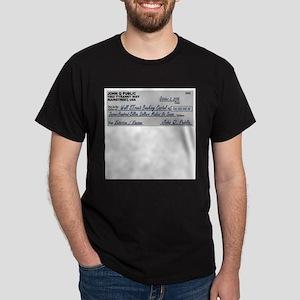 No Bailout Funny Check T-Shirt
