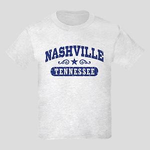 Nashville Tennessee Kids Light T-Shirt