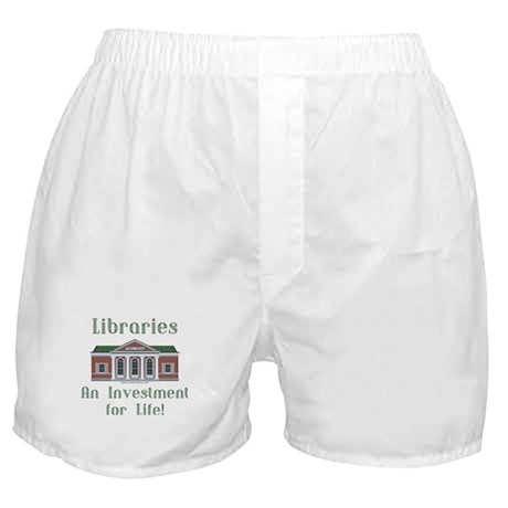 Investment for Life! Boxer Shorts