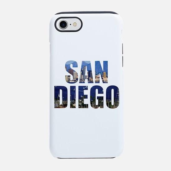 San Diego iPhone 8/7 Tough Case