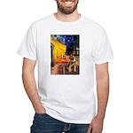 Ter Cafe / Border T White T-Shirt