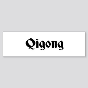 Qigong Bumper Sticker