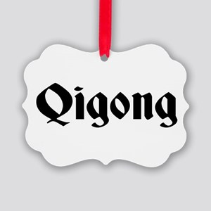 Qigong Picture Ornament