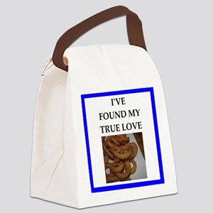 onion rings Canvas Lunch Bag