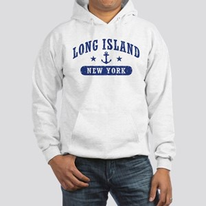 Long Island New York Hooded Sweatshirt