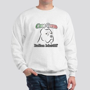 Cane Corso white t Sweatshirt