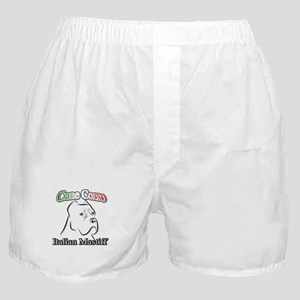 Cane Corso white t Boxer Shorts