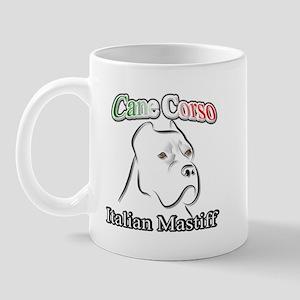Cane Corso white t Mug