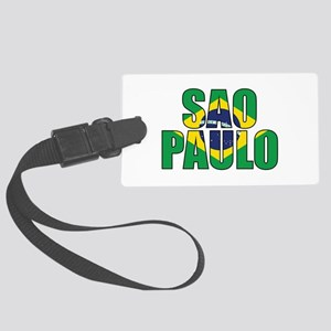 Sao Paulo Large Luggage Tag