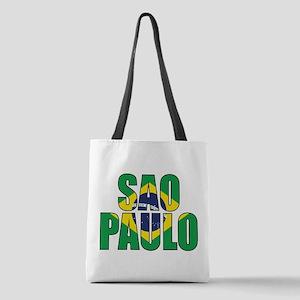 Sao Paulo Polyester Tote Bag