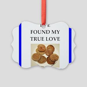 true love food joke Ornament