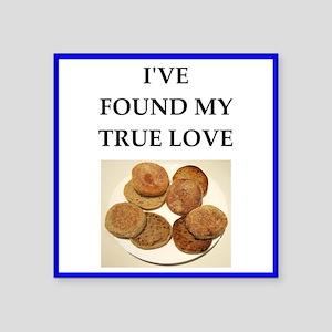 true love food joke Sticker