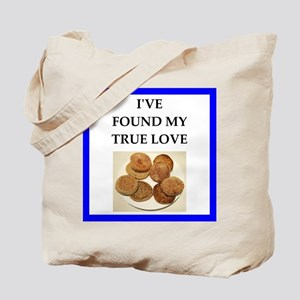 true love food joke Tote Bag