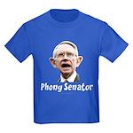 Phony Senator Harry Reid Kids Dark T-Shirt