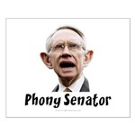 Phony Senator Harry Reid Small Poster
