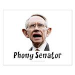 Phony Senator Harry Reid Small Poster