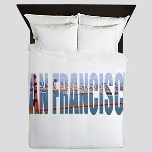 San Francisco Queen Duvet