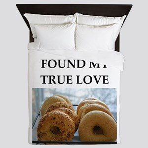 bagel Queen Duvet
