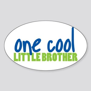 one cool little brother Oval Sticker