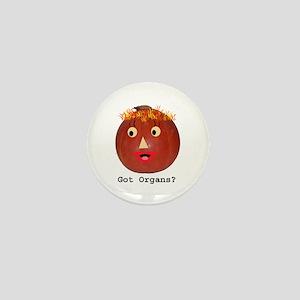 Halloween Donor Awareness Transplant Mini Button