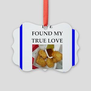 chicken nuggets Ornament