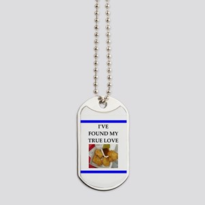 chicken nuggets Dog Tags