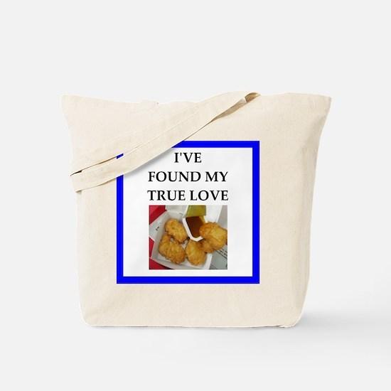chicken nuggets Tote Bag