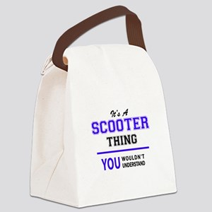 SCOOTER thing, you wouldn't under Canvas Lunch Bag