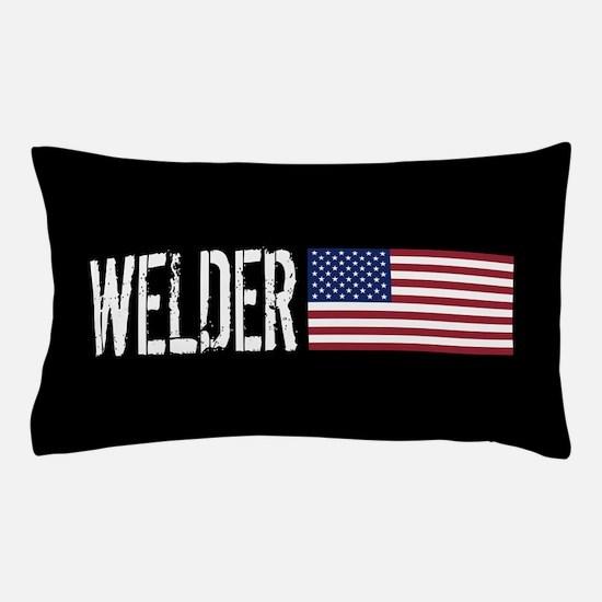 Careers: Welder (U.S. Flag) Pillow Case