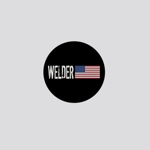 Careers: Welder (U.S. Flag) Mini Button