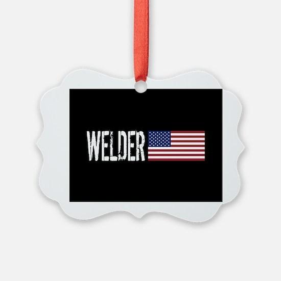 Careers: Welder (U.S. Flag) Ornament